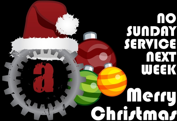 Image result for No service Christmas Sunday