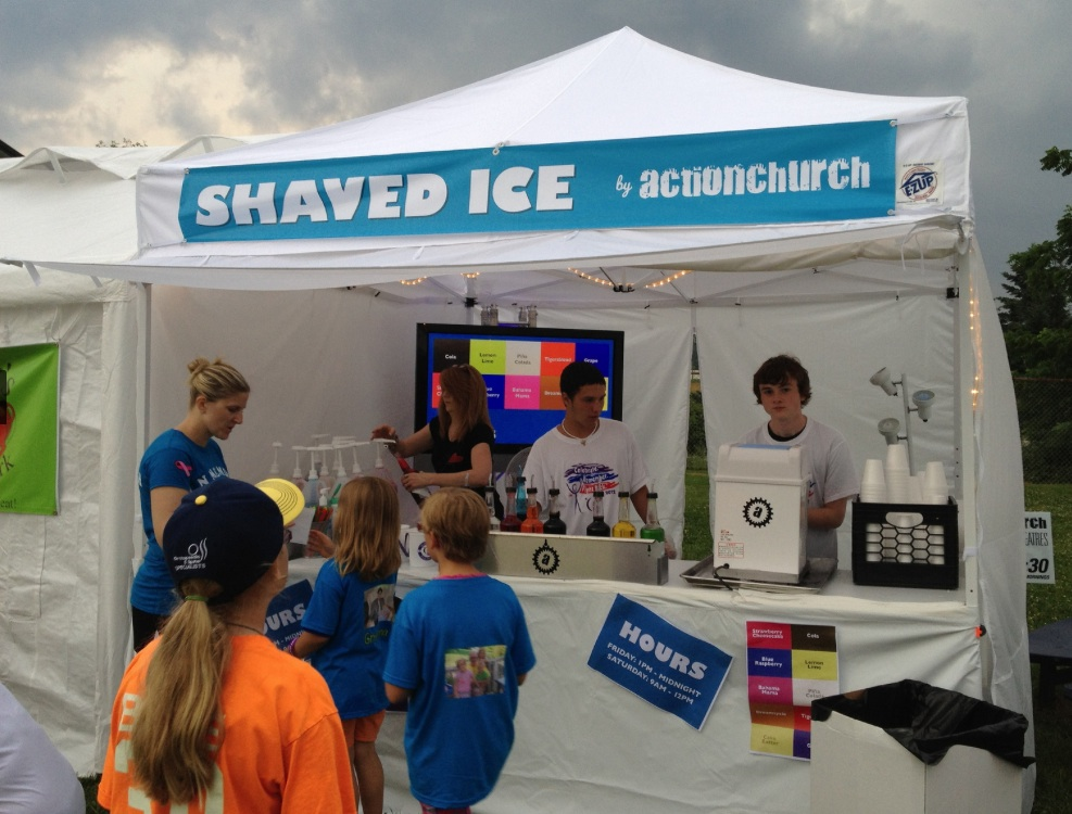 Shaved-ice Stand
