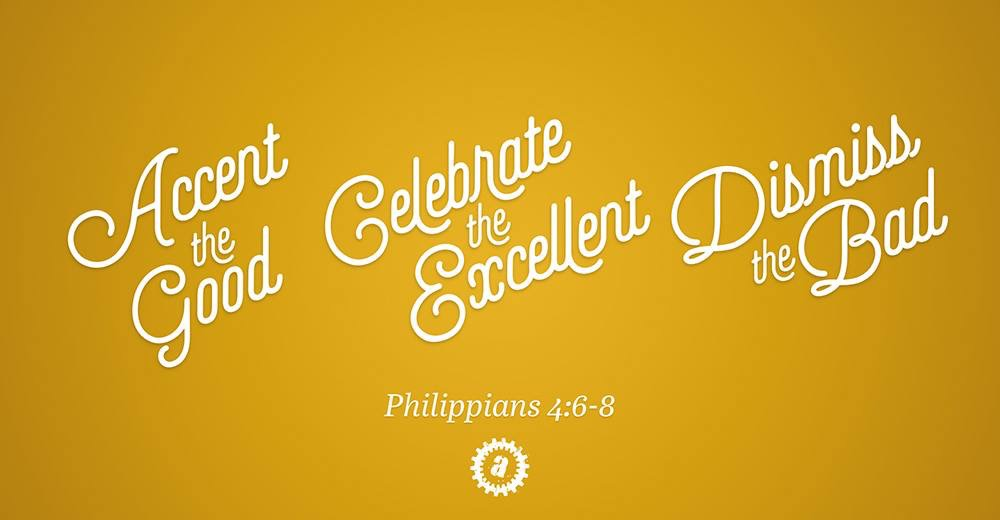 Accent-Celebrate-Dismiss